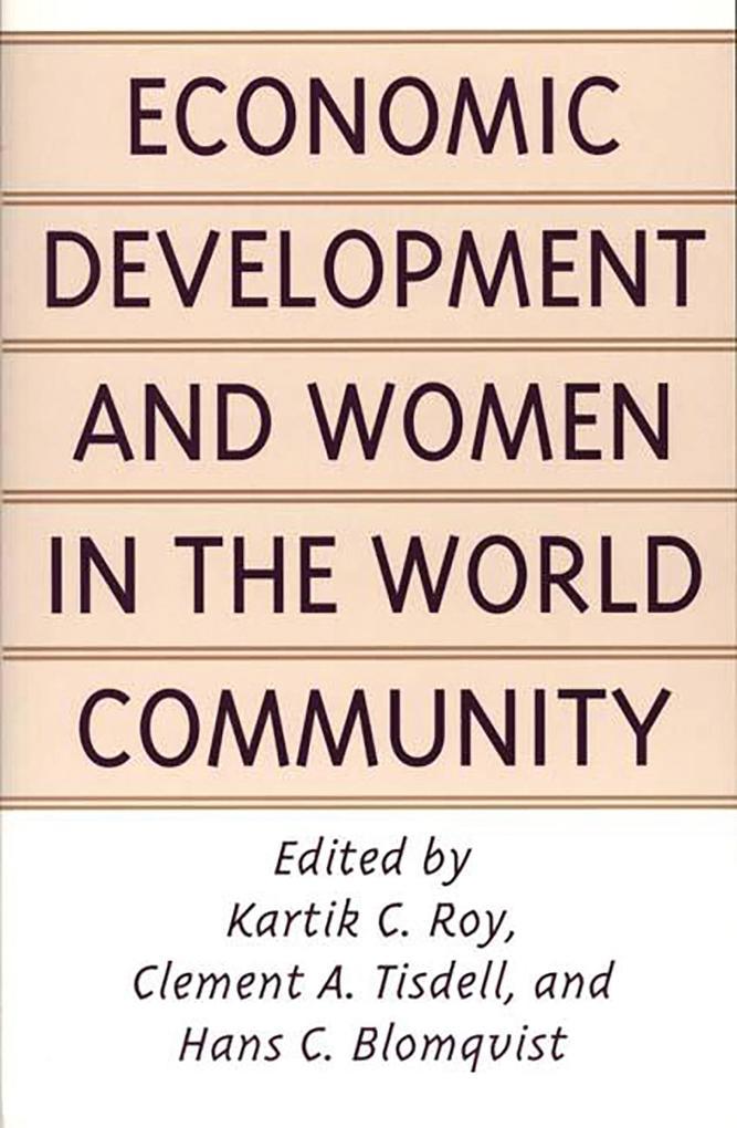 Economic Development and Women in the World Com...
