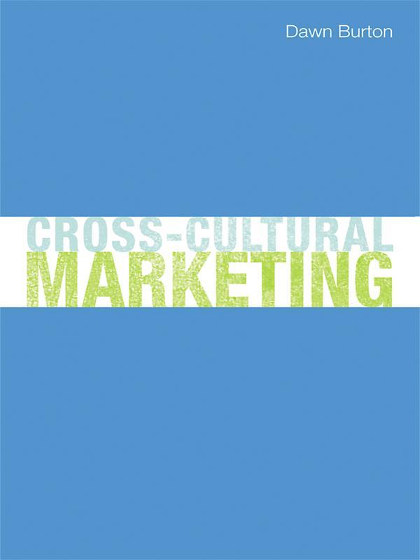 Cross-Cultural Marketing als eBook Download von...