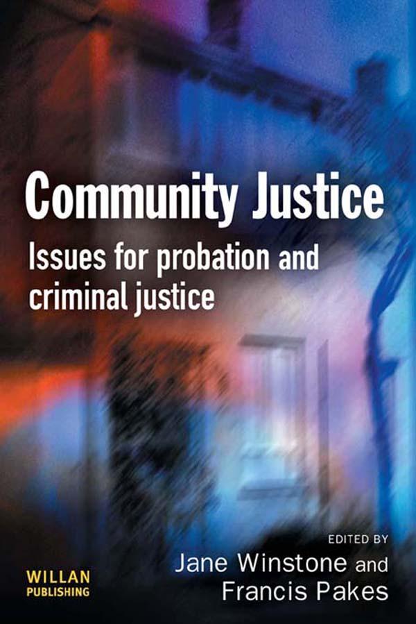 Community Justice als eBook Download von