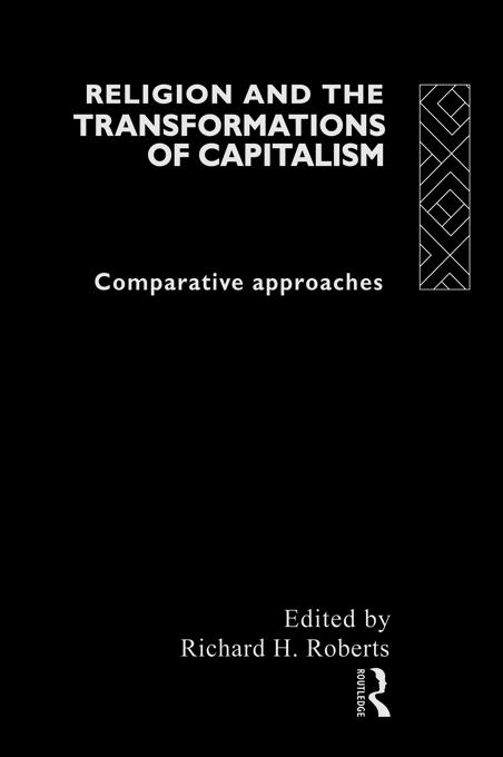 Religion and The Transformation of Capitalism a...
