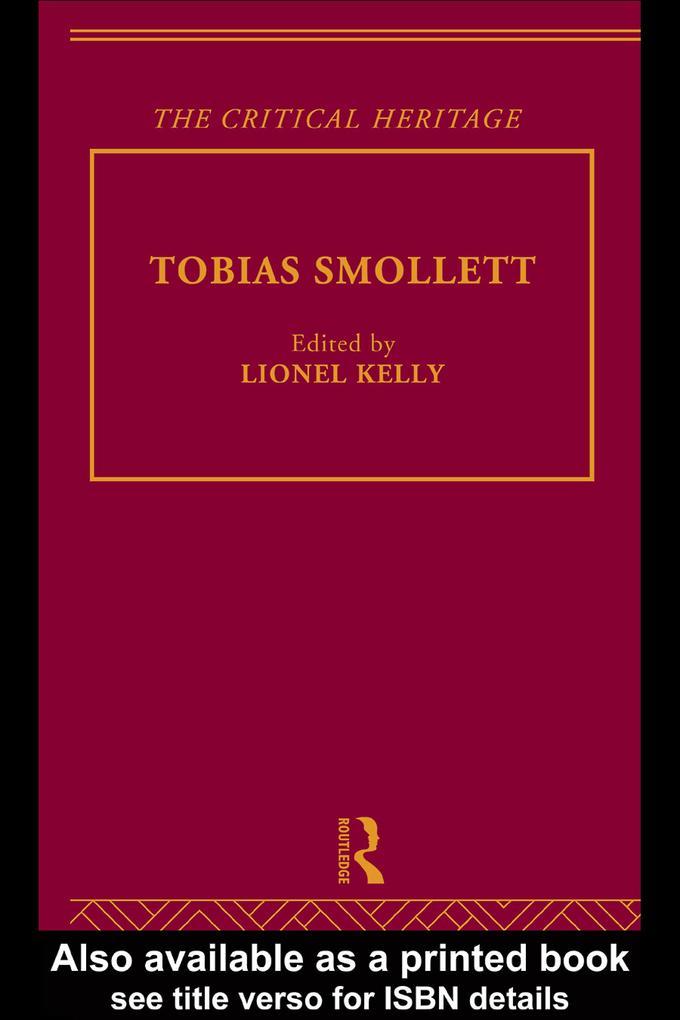 Tobias Smollett als eBook Download von