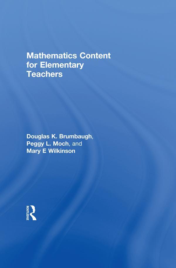 Mathematics Content for Elementary Teachers als...