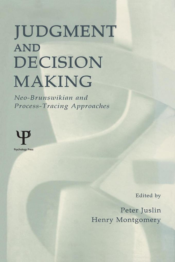 Judgment and Decision Making als eBook Download...