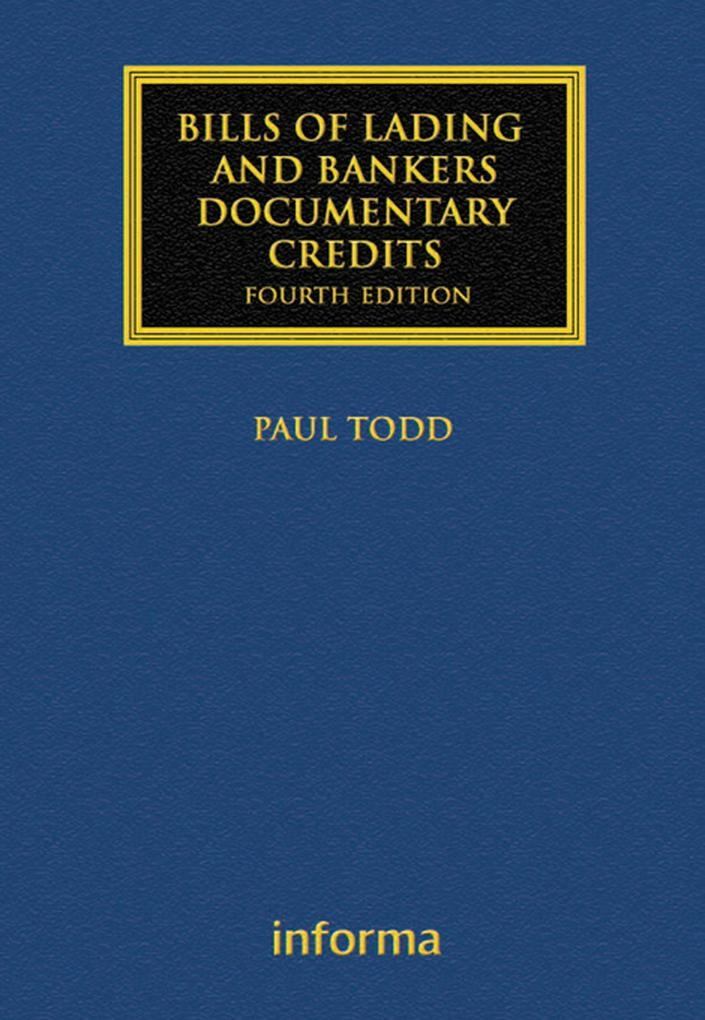 Bills of Lading and Bankers´ Documentary Credit...