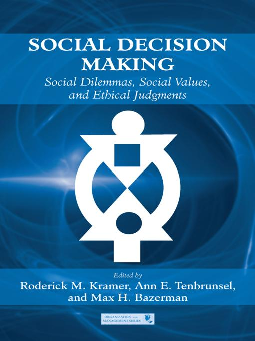 Social Decision Making als eBook Download von