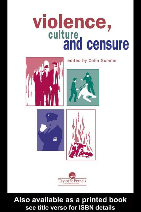 Violence, Culture And Censure als eBook Downloa...