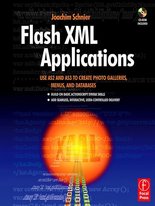 Flash XML Applications als eBook Download von J...