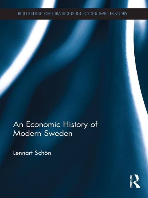 Economic History of Modern Sweden als eBook Dow...