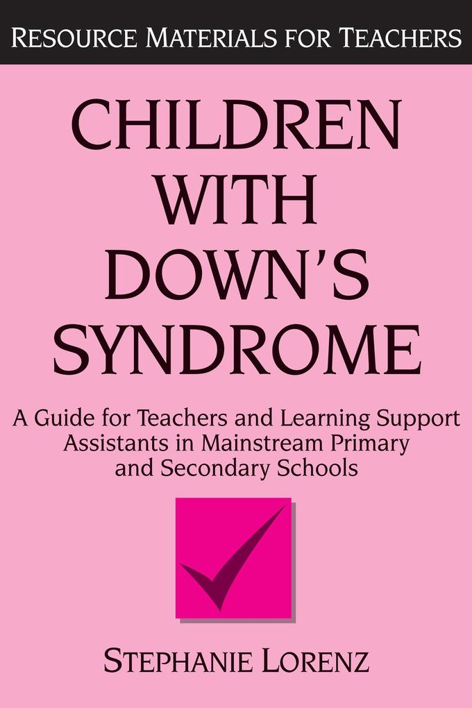 Children with Down´s Syndrome als eBook Downloa...
