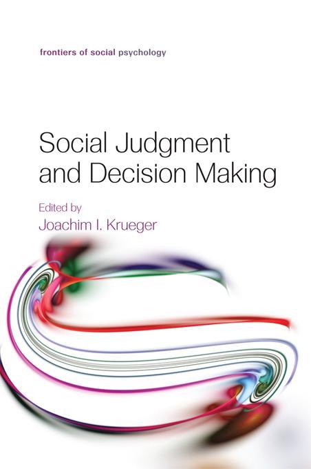 Social Judgment and Decision Making als eBook D...