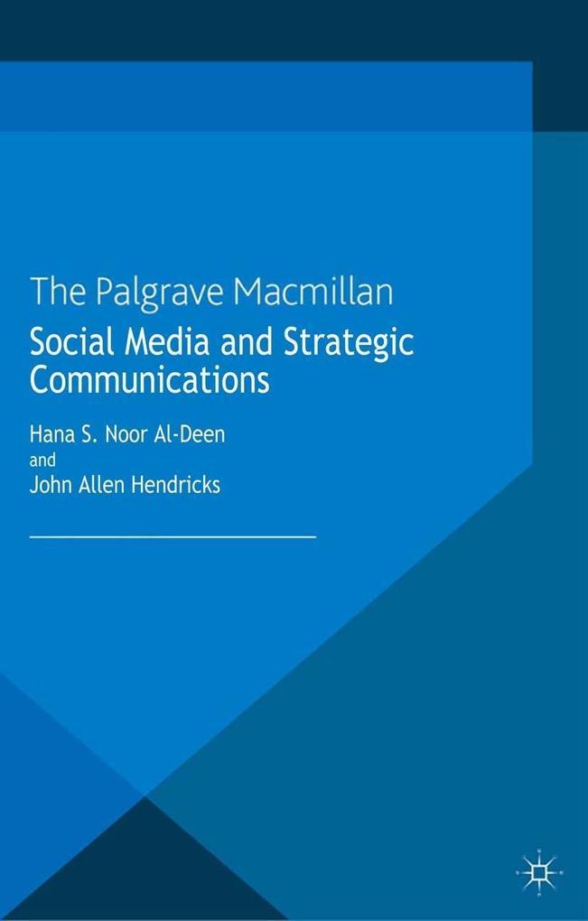 Social Media and Strategic Communications als e...