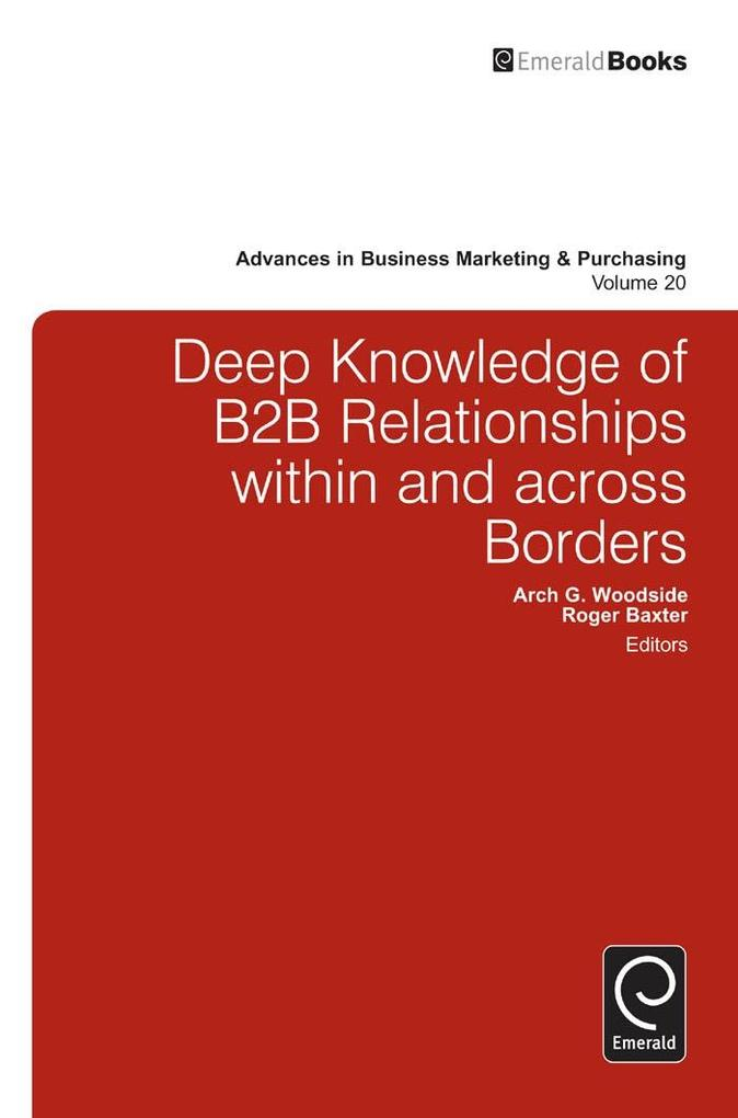 Deep Knowledge of B2B Relationships Within and ...