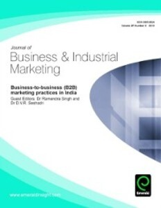 Business-to-business (B2B) marketing practices ...