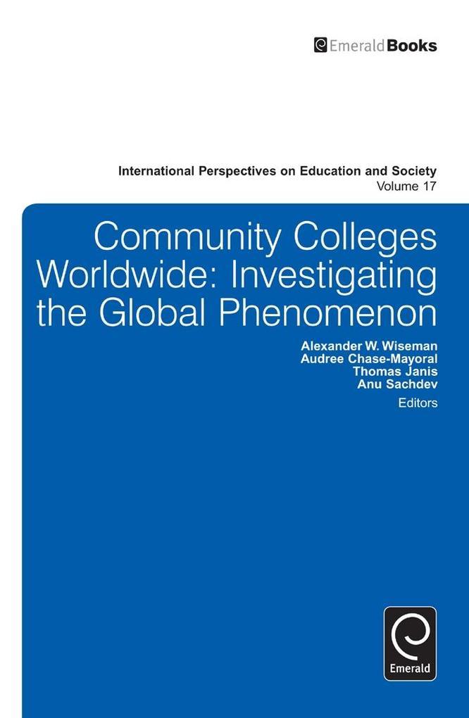 Community Colleges Worldwide als eBook Download...