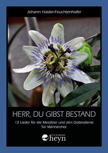 Herr, du gibst Bestand als Buch von Johann Haid...