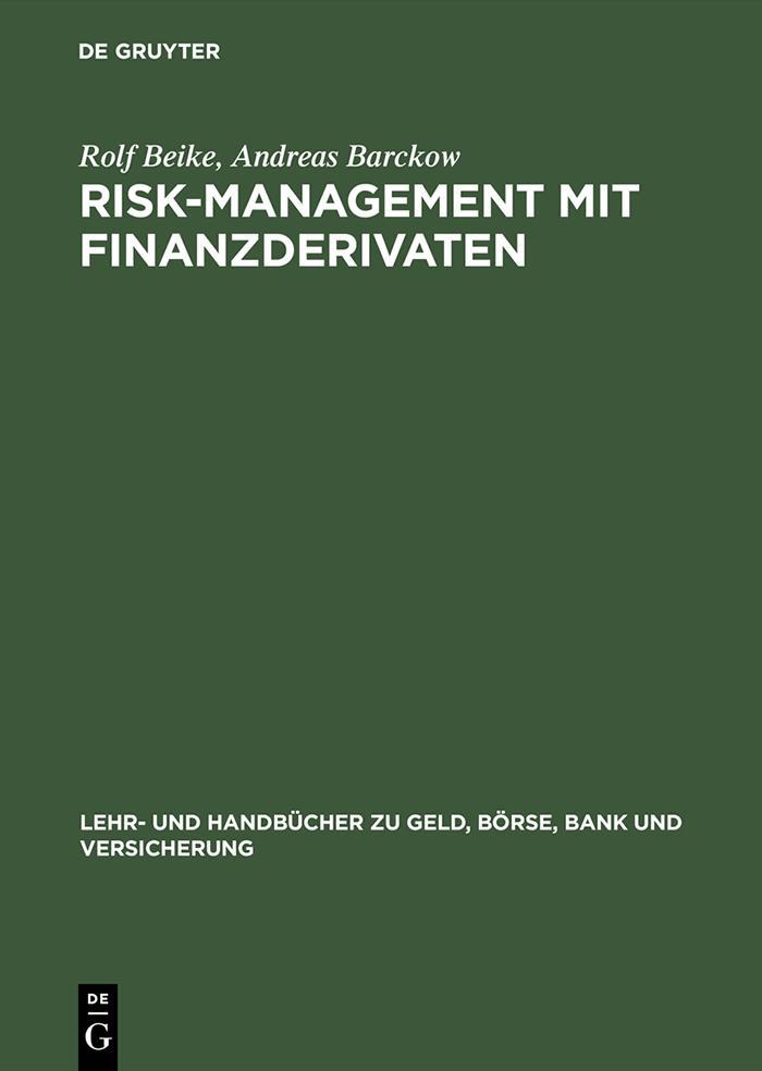 Risk-Management mit Finanzderivaten als eBook