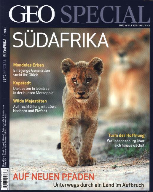 GEO Special / 06/2014 - Südafrika als Buch von