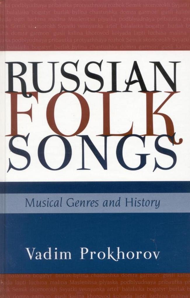 Russian Folk Songs als eBook Download von Vadim...