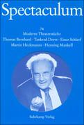 Spectaculum 74. Fünf moderne Theaterstücke und Materialien