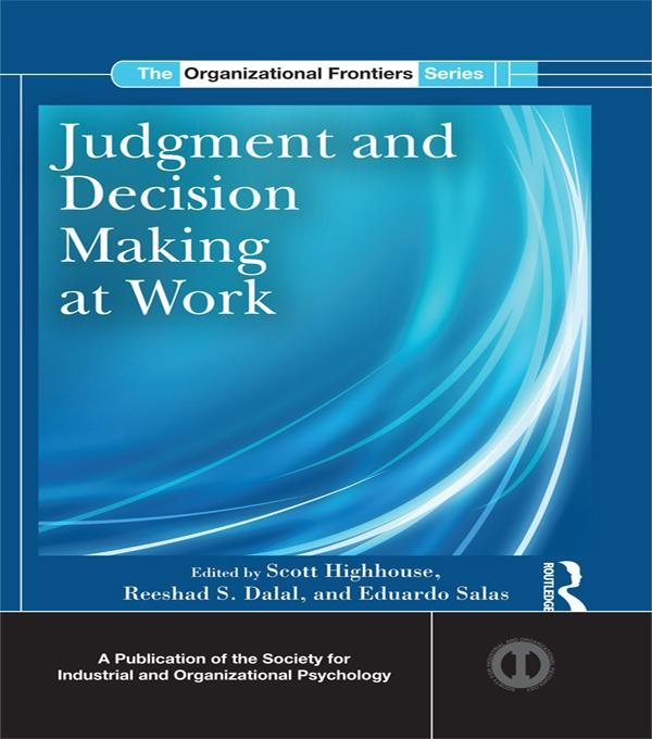 Judgment and Decision Making at Work als eBook ...