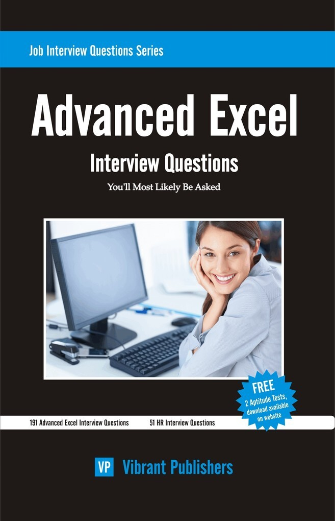 Advanced Excel Interview Questions You´ll Most ...