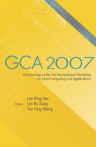 Gca 2007 - Proceedings Of The 3rd International...