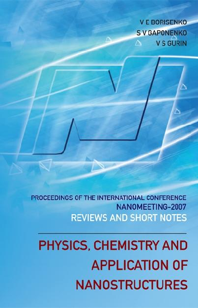Physics, Chemistry And Application Of Nanostruc...