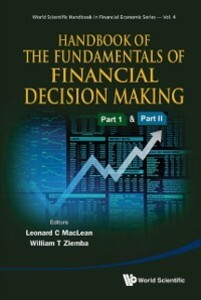 Handbook of the Fundamentals of Financial Decis...