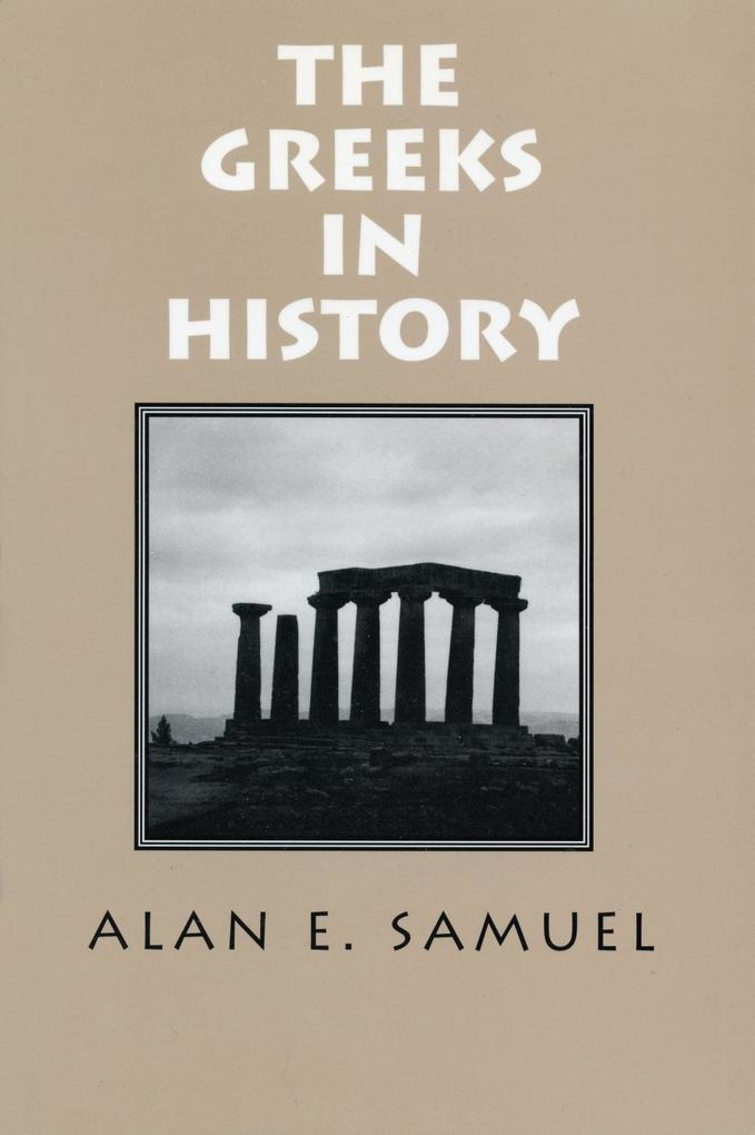 Greeks In History als eBook epub