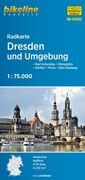 Bikeline Radkarte Dresden und Umgebung 1 : 75 000