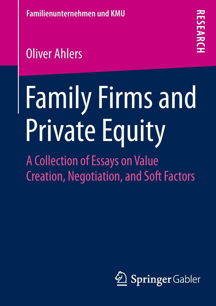 Family Firms and Private Equity als Buch von Ol...