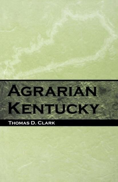 Agrarian Kentucky als Taschenbuch