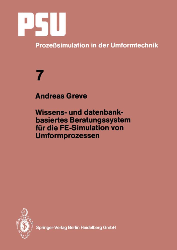Wissens- und datenbankbasiertes Beratungssystem...