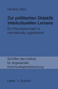 Zur politischen Didaktik interkulturellen Lernens