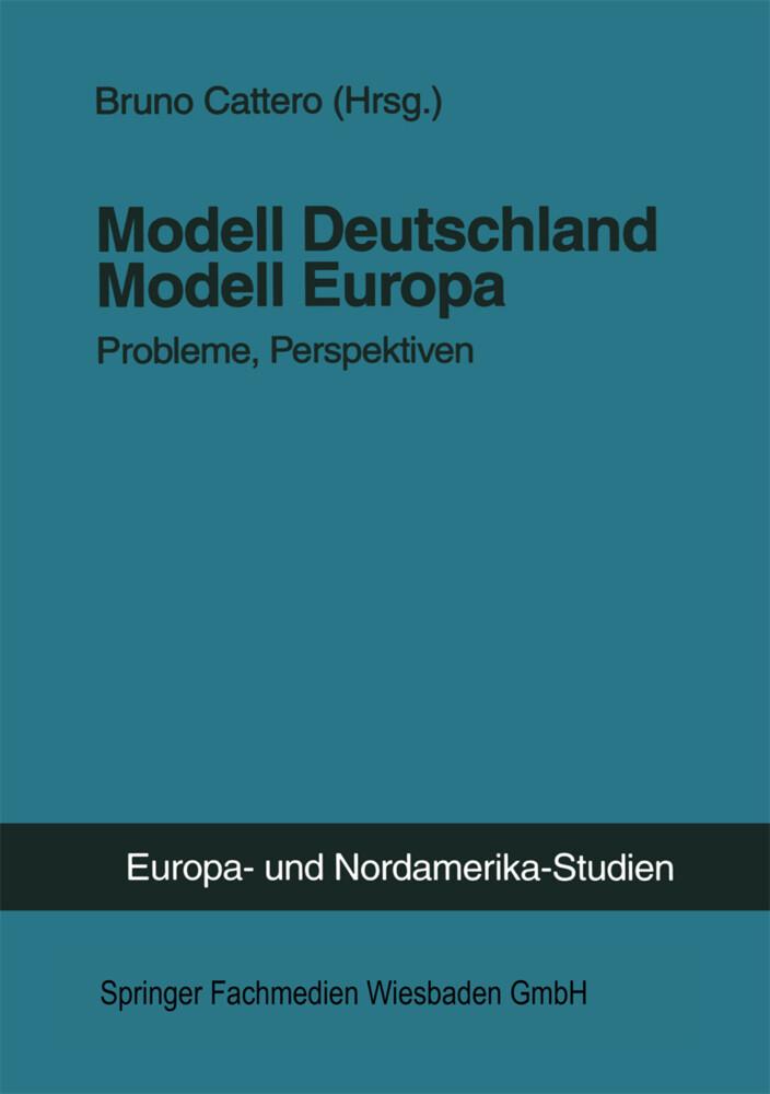 Modell Deutschland - Modell Europa als Buch von