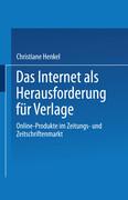 Das Internet als Herausforderung für Verlage