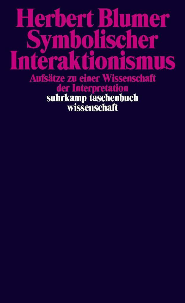 Symbolischer Interaktionismus als eBook Downloa...