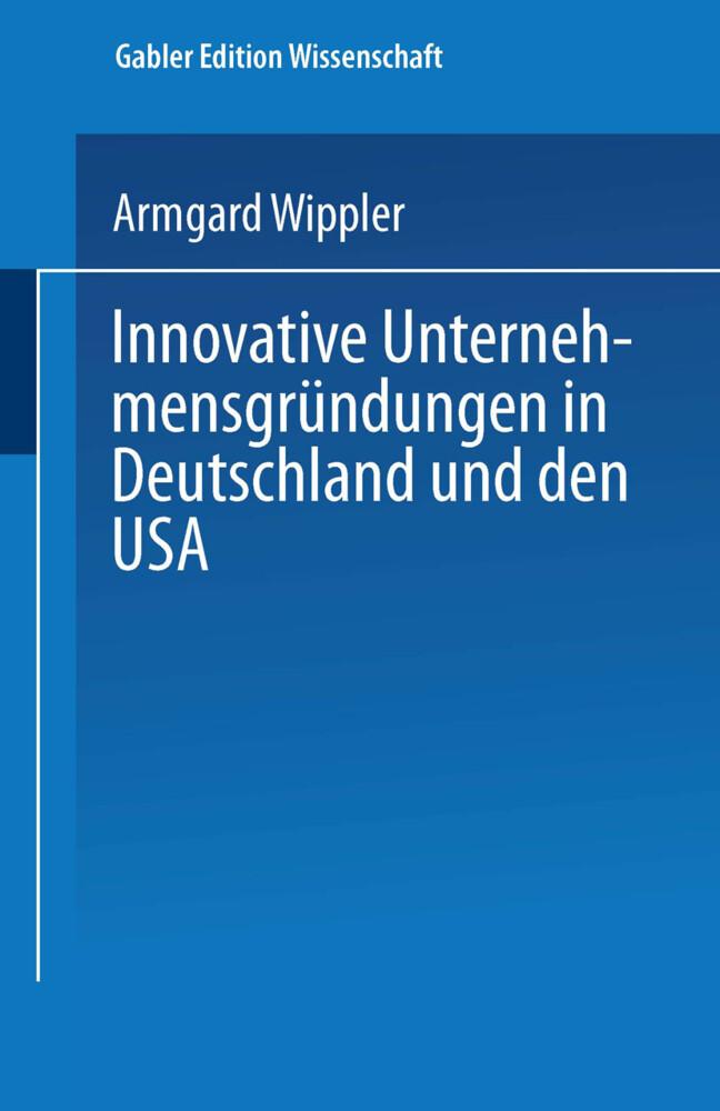 Innovative Unternehmensgründungen in Deutschlan...