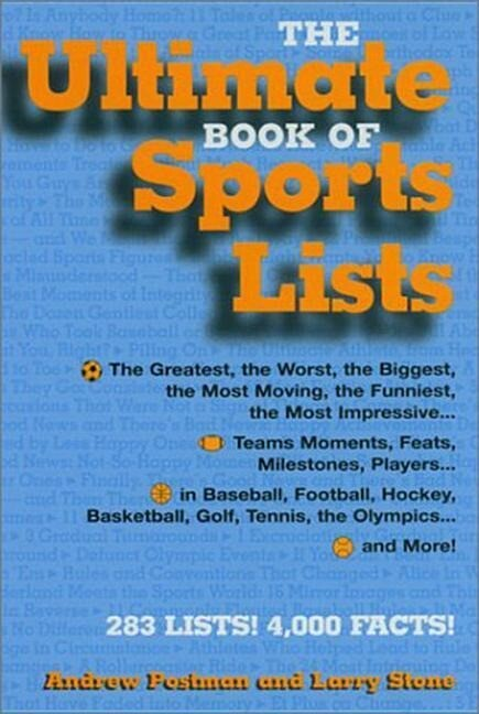The Ultimate Book of Sports Lists als Buch