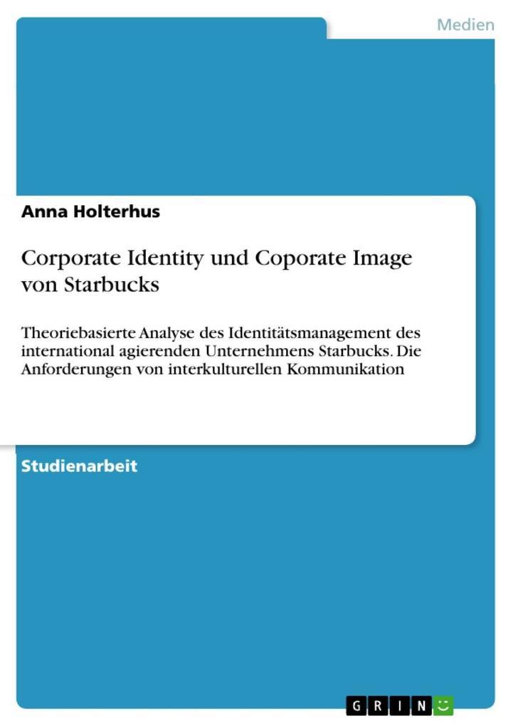 Corporate Identity und Coporate Image von Starb...