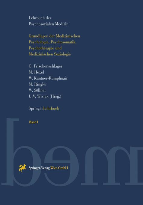 Lehrbuch der Psychosozialen Medizin als Buch von
