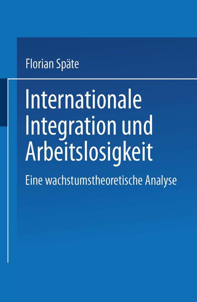 Internationale Integration und Arbeitslosigkeit...