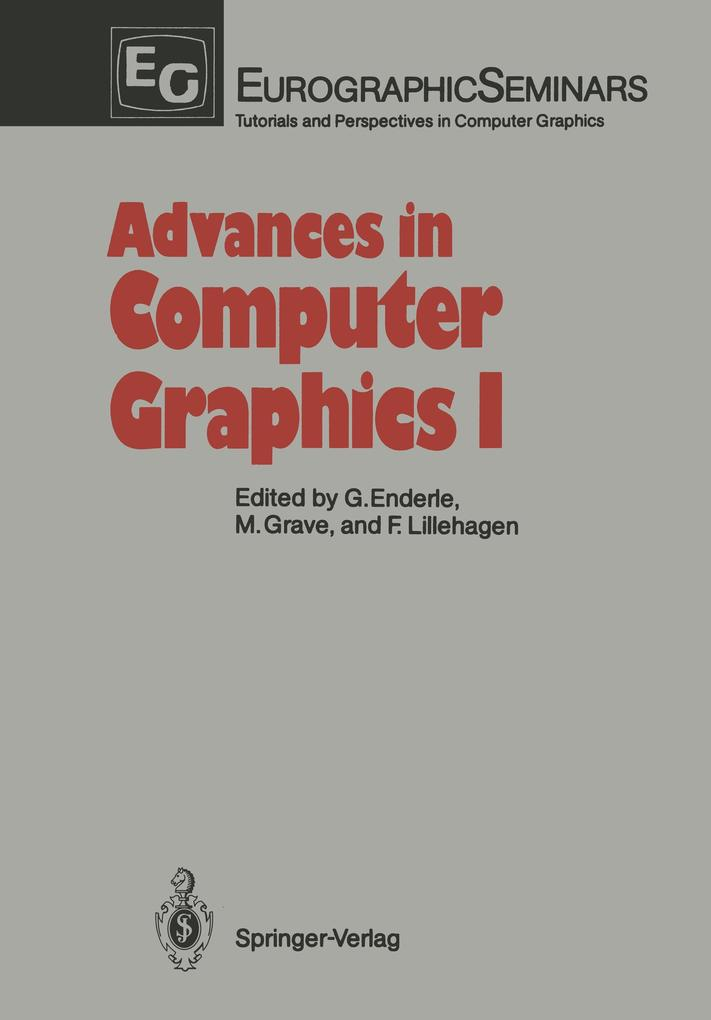 Advances in Computer Graphics I als Buch von