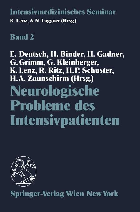 Neurologische Probleme des Intensivpatienten al...