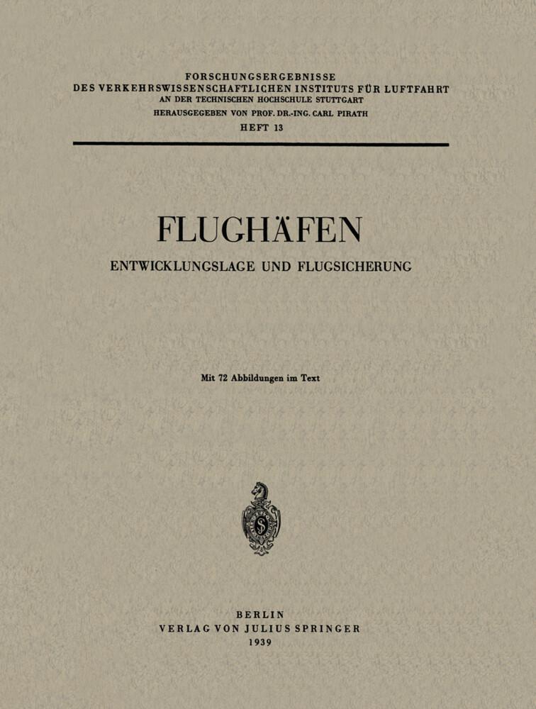 Flughäfen als Buch von Carl Pirath