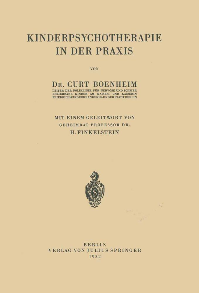 Kinderpsychotherapie in der Praxis als Buch von...