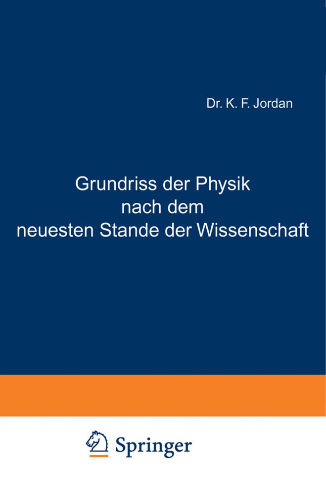 Grundriss der Physik nach dem neuesten Stande d...