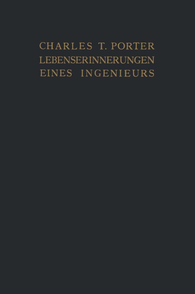 Lebenserinnerungen eines Ingenieurs als Buch vo...