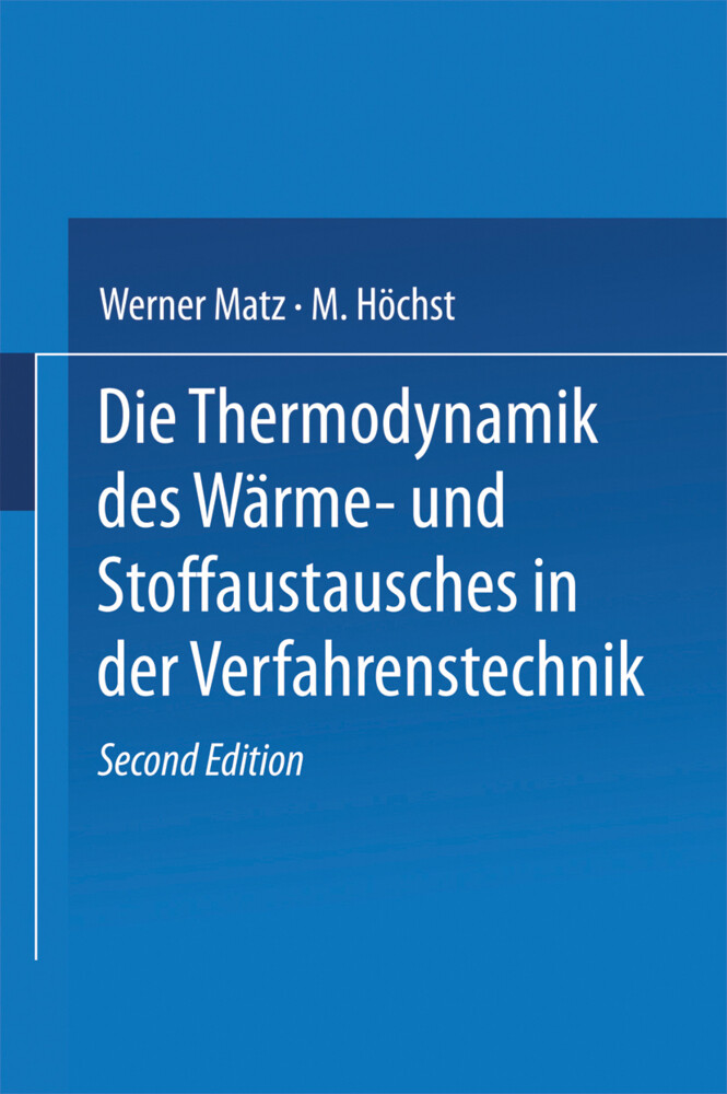 Die Thermodynamik des Wärme- und Stoffaustausch...