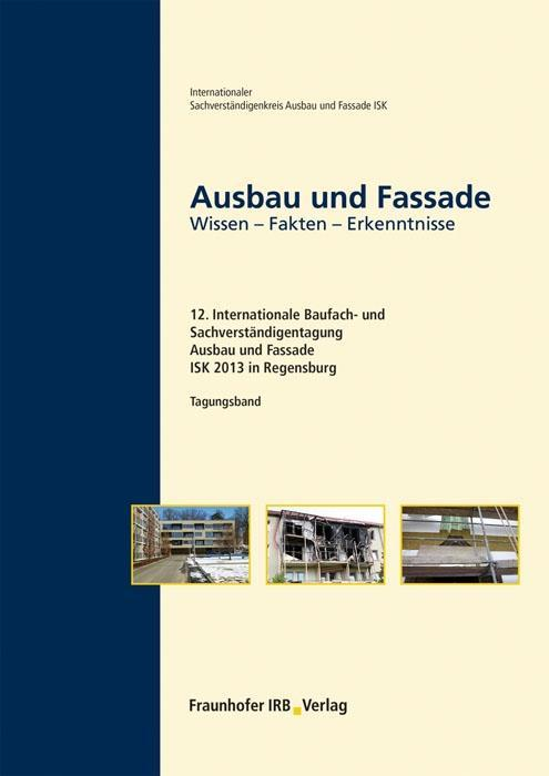 Ausbau und Fassade als Buch von
